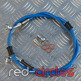 VENHILL BLUE FRONT BRAKE HOSE 950mm
