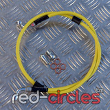 VENHILL YELLOW FRONT BRAKE HOSE 950mm