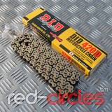 D.I.D. GOLD PITBIKE CHAIN - 112 LINK / 420 PITCH
