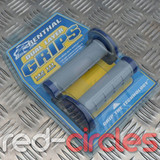 RENTHAL DUAL LAYER GRIPS - BLUE