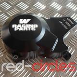 WHOOP (W) RACING PITBIKE STATOR COVER - BLACK
