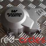 WHOOP (W) RACING PITBIKE STATOR COVER - SILVER