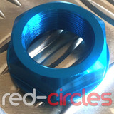 22.5mm HEADSTOCK STEM NUT - BLUE