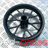 MINI DIRT BIKE WHEEL FOR TYRE SIZE 12.5 X 2.75 - BLACK