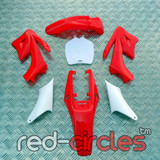 MINI APOLLO DIRT BIKE PLASTIC KIT - RED