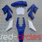 MINI APOLLO DIRT BIKE PLASTIC KIT - BLUE