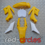 MINI APOLLO DIRT BIKE PLASTIC KIT - YELLOW