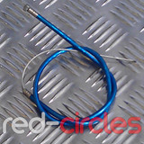 MINIMOTO FRONT BRAKE CABLE - BLUE