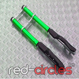 MINI DIRT BIKE FORKS - GREEN