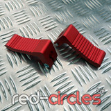 HEAVY DUTY MINIMOTO FOOTRESTS - RED
