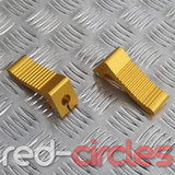 MINIMOTO HEAVY DUTY FOOTRESTS - GOLD