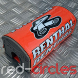 RENTHAL 178mm PITBIKE FATBAR PAD - ORANGE