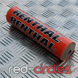 RENTHAL 210mm PITBIKE BAR PAD - ORANGE