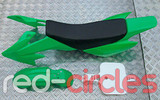 CRF50 PITBIKE PLASTIC SET - GREEN (WITH SEAT PAD)