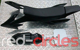 CRF50 PITBIKE PLASTIC SET - BLACK (WITH SEAT PAD)