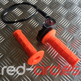 PITBIKE / ATV QUICK ACTION THROTTLE SET - ORANGE