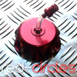 PITBIKE ALLOY FUEL CAP - RED