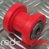 8mm PIT BIKE CHAIN ROLLER - RED
