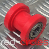10mm PIT BIKE CHAIN ROLLER - RED