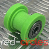10mm PIT BIKE CHAIN ROLLER - GREEN