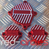 YX160 PIT BIKE CNC BLING KIT - RED