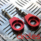 15mm EYELET CHAIN TENSIONERS - RED