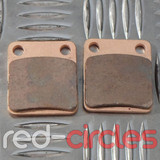 SQUARE PITBIKE REAR BRAKE PADS (TYPE D)