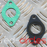 20mm PITBIKE / ATV INLET MANIFOLD GASKET & HEAT SHIELD SET