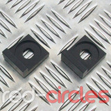 12mm BLOCK PITBIKE CHAIN TENSIONERS - BLACK