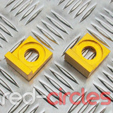 15mm BLOCK PITBIKE CHAIN TENSIONERS - GOLD