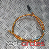 ADJUSTABLE PRIMARY PITBIKE CLUTCH CABLE - GOLD