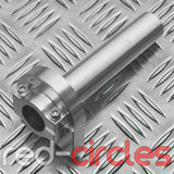 CNC QUICK ACTION PITBIKE THROTTLE TWIST - SILVER
