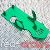 PITBIKE SUMP GUARD - GREEN (ELECTRIC START)