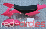 CRF50 STYLE PITBIKE PLASTIC SET - PINK (WITH SEAT PAD)