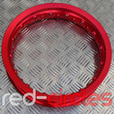 "PITBIKE WHEEL RIM - 10"" / RED"