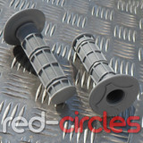 PITBIKE SOFT GRIPS - GREY