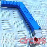 CNC PITBIKE / ATV KICKSTART - BLUE