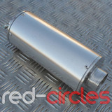 PITBIKE BIG BORE EXHAUST MUFFLER - SILVER