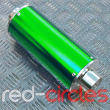 PITBIKE BIG BORE EXHAUST MUFFLER - GREEN