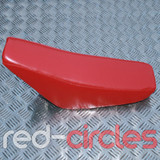 PIT BIKE HIGH RISE CRF50 SEAT PAD - RED