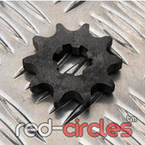 17mm PITBIKE / ATV FRONT SPROCKET - 10 TOOTH / 420 PITCH