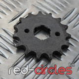 17mm PITBIKE / ATV FRONT SPROCKET - 15 TOOTH / 420 PITCH
