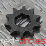 17mm PITBIKE / ATV FRONT SPROCKET - 10 TOOTH / 428 PITCH