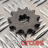 17mm PITBIKE / ATV FRONT SPROCKET - 11 TOOTH / 428 PITCH