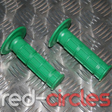 PITBIKE SOFT GRIPS - GREEN