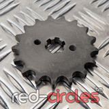17mm PITBIKE / ATV FRONT SPROCKET - 17 TOOTH / 428 PITCH
