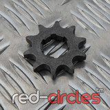 20mm PITBIKE / ATV FRONT SPROCKET - 10 TOOTH / 420 PITCH