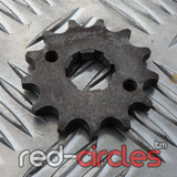 20mm PITBIKE / ATV FRONT SPROCKET - 13 TOOTH / 420 PITCH