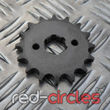 20mm PITBIKE / ATV FRONT SPROCKET - 16 TOOTH / 420 PITCH