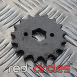 20mm PITBIKE / ATV FRONT SPROCKET - 17 TOOTH / 420 PITCH